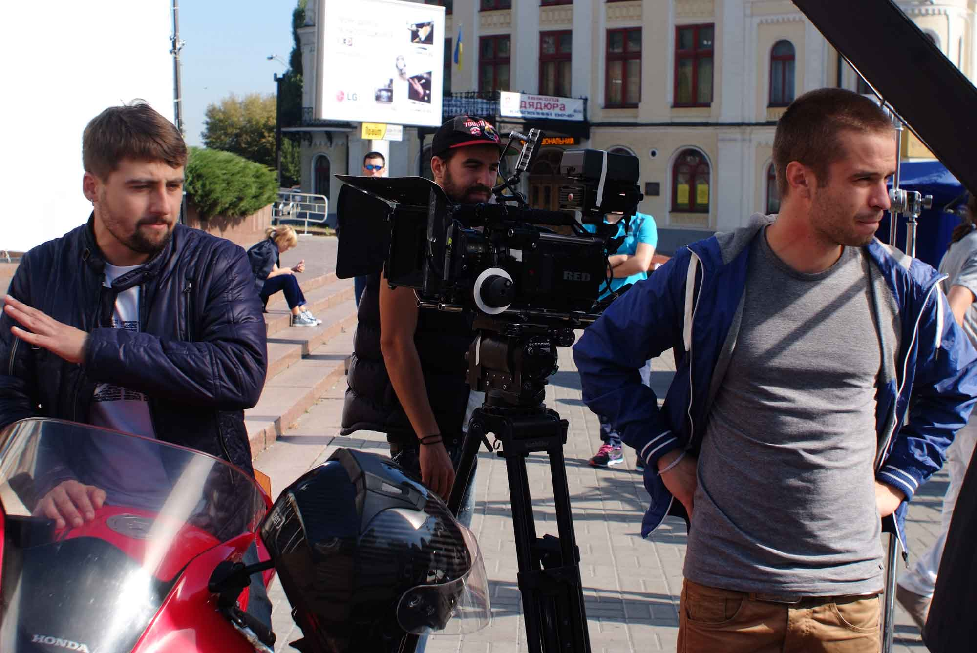 Andrew Rozhen (Director) and Dmitriy Nedria (DOP): Re-assessing scene location after first take